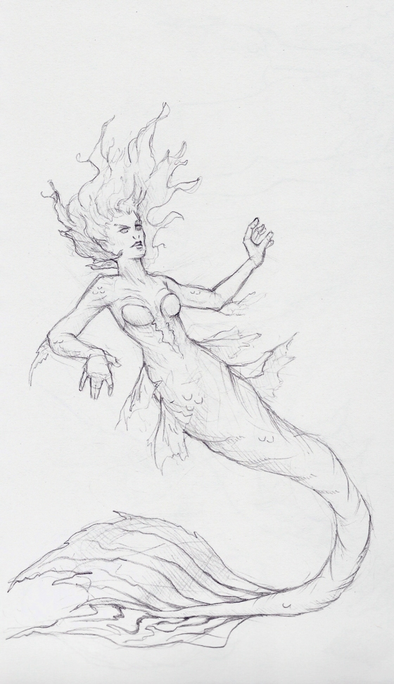 MermaidSorceressWIP